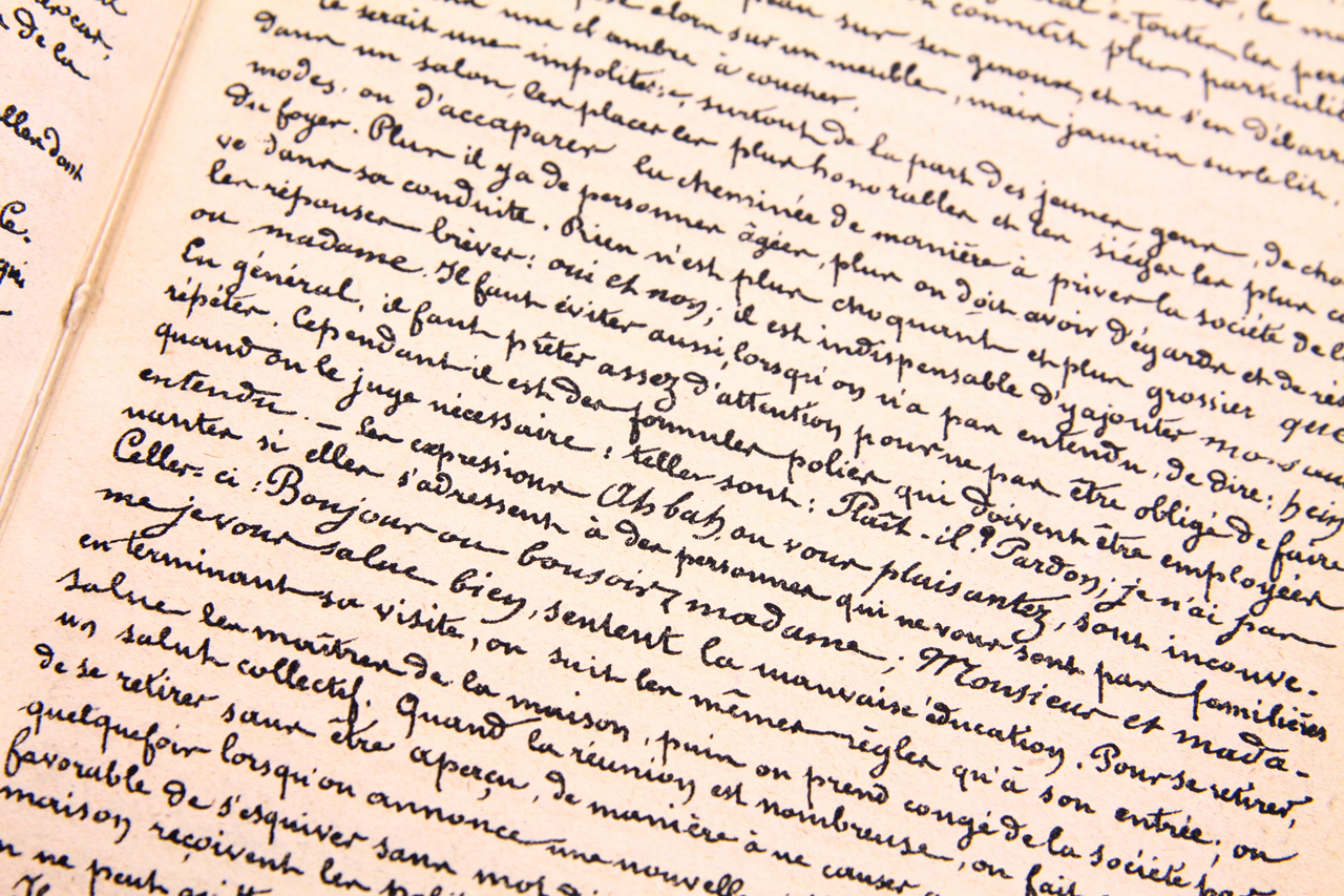 To handwrite