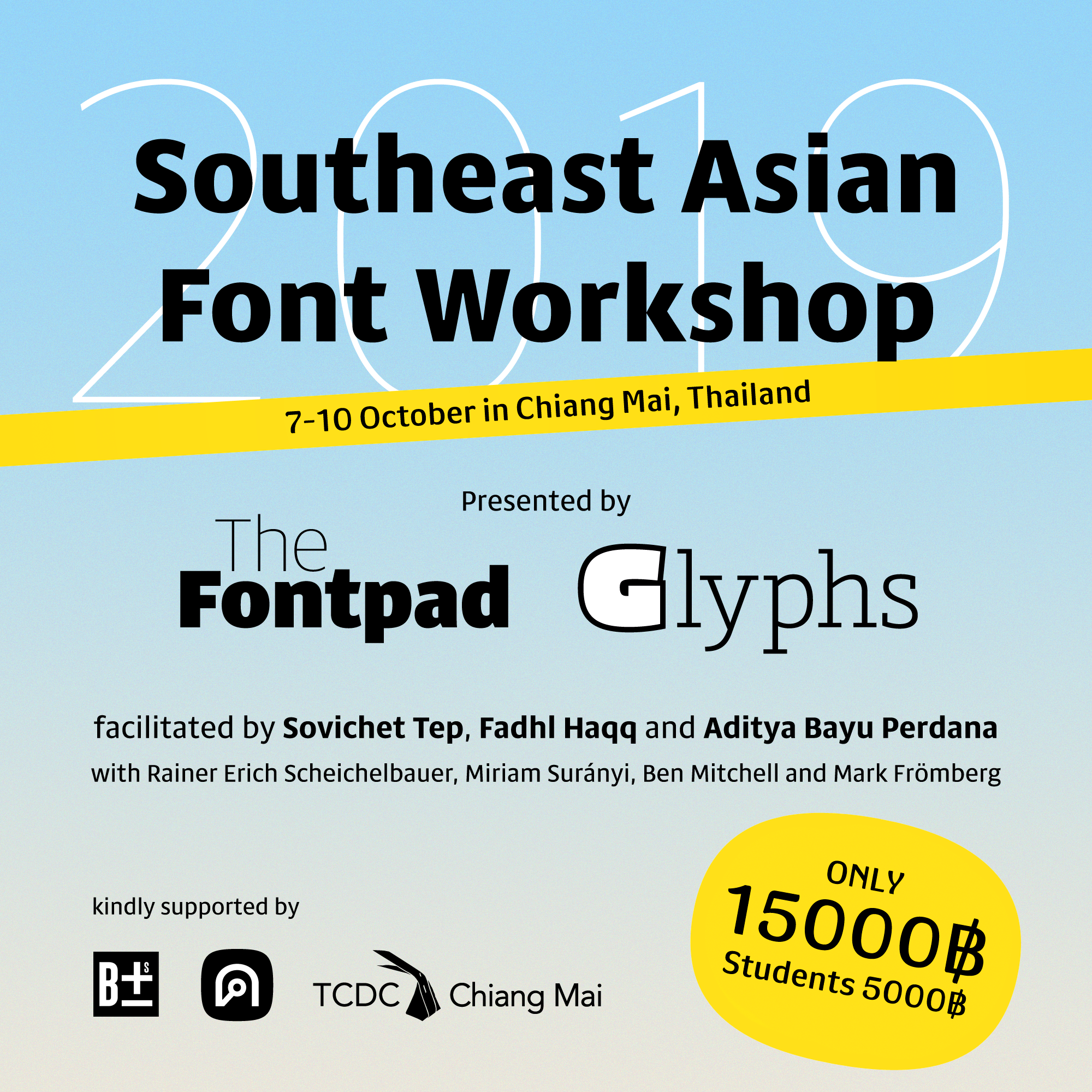 Southeast Asian Font Workshop 2019